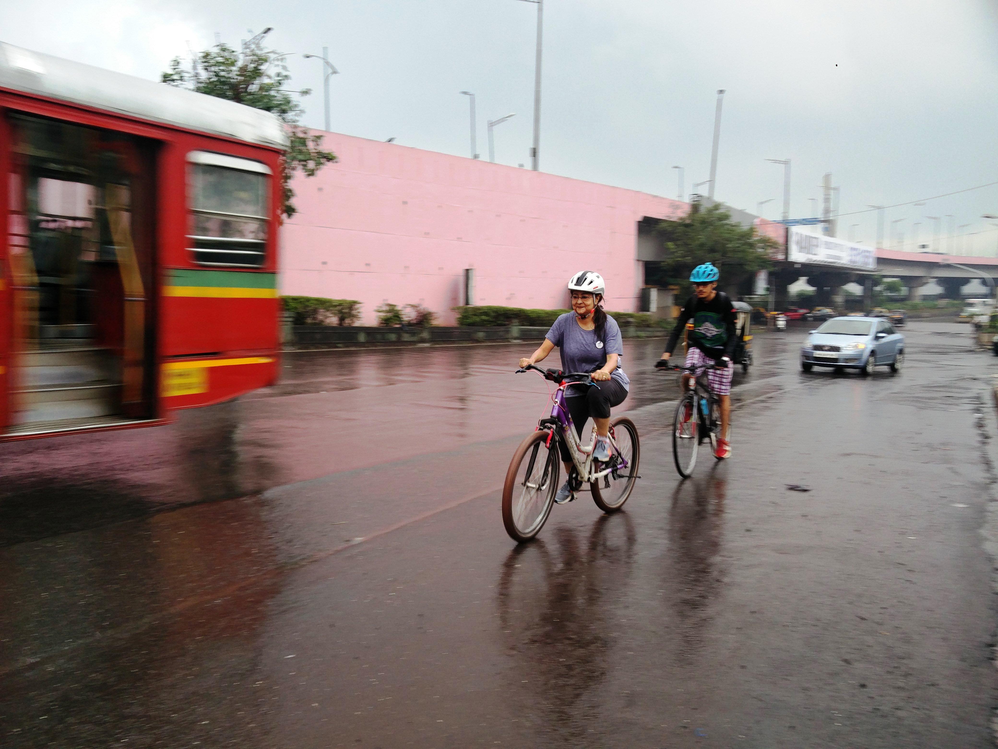 bandra kurla complex cycling
